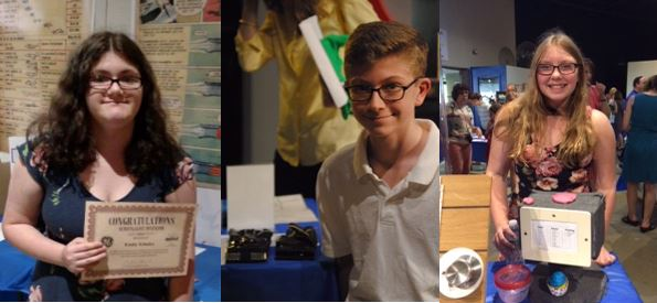 Three SSCS Students Recognized t the MiSci Invention Convention