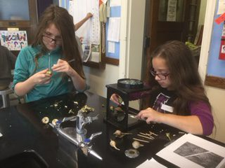 Students in the After  School Enrichment Program