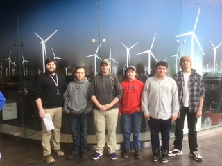 On Saturday, March 17, 5 students and 2 teachers participated in the GE sponsored KidWind competition.