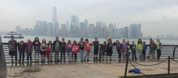 The fourth grade had the awesome opportunity of venturing to NYC to take part in history as they participated in a walking tour of Ellis Island and saw the Statue of Liberty!