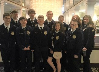 FFA Members at this Years FFA Convention.