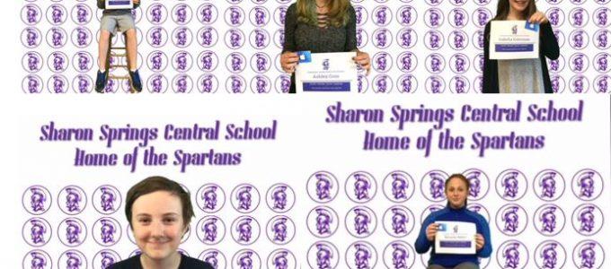 Students of the Quarter – Congratulations!